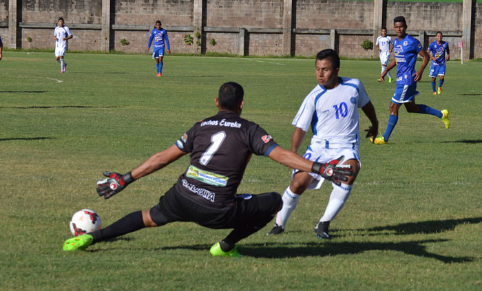 La selección sub 20 salvadoreña tuvo su último fogueo al enfrentarse ante Atlético Marte. /DEM