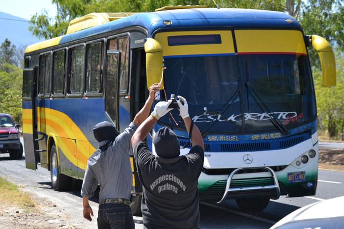 Los asaltantes iban armados con una escopeta. /ERNESTO MARTÍNEZ