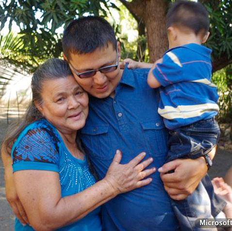 Madre e hijo se encontraron en la isla Montecristo. /DEM