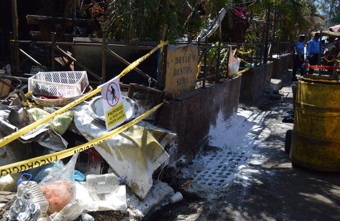 Trabajadores municipales retirarán escombros hasta que el Juzgado 5o de lo Mercantil autorice./W.U.