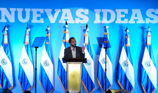 Nayib Bukele aseguró que su plan municipal fue elaborado con cientos de consultas ciudadanas y con expertos. /ÓSCAR MACHÓN