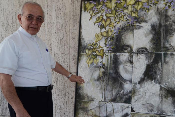 Monseñor Jesús Delgado fue secretario de Romero. /DEM