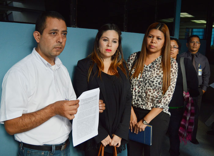 Las organizaciones ISD y Fespad son parte querellante en el caso contra Flores. /DEM