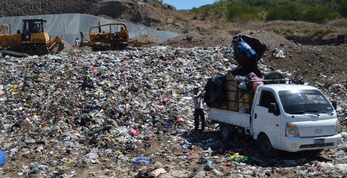 El relleno sanitario El Zompopo está funcionando desde enero del año pasado. /WILSON URBINA
