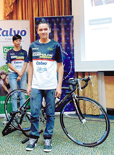 Seven Pro presentó sus ciclistas. /DEM
