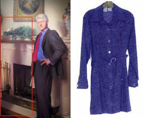 El Mensaje Oculto En El Retrato Oficial De Bill Clinton