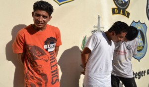 Los sujetos cometieron el crimen el pasado 27 de enero a cinco jóvenes. /ERNESTO MARTÍNEZ