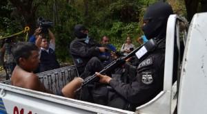 El último crimen contra un agente policial sucedió el martes en Olocuilta. /DEM