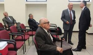 Fiscalía pretende que los nueve imputados sean enviados a vista pública. /JUZGADOS