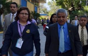 Fiscales llegaron ayer al Cifco tras la denuncia de un supuesto sabotaje. /JAIR MARTÍNEZ