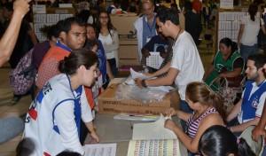 Las JRV trabajaron en la recepción y conteo de votos más de 17 horas. /DEM
