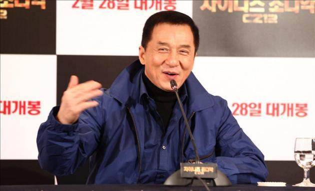 El director y actor chino Jackie Chan. EFE/Archivo
