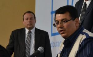 Julio Olivo Granadino, presidente del TSE. /DEM