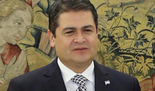 Presidente de Honduras copia