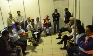 Los partidos políticos se reunieron con magistrados del TSE. /JAIR MARTÍNEZ