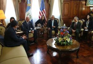 El vicepresidente estadounidense se reunirá también con organizaciones de la sociedad. /DEM