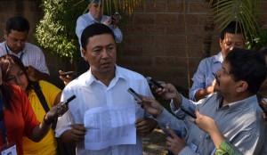 El alcalde migueleño argumenta que perdió por trampas hechas por el FMLN. /DEM