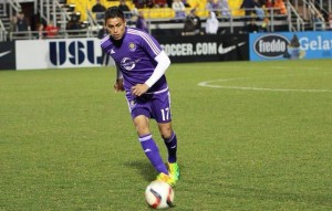 Darwin Cerén debutará en la Mayor Soccer League. /DEM