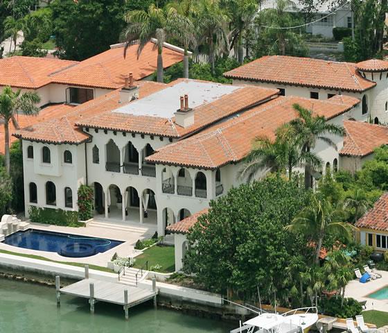 La mansión que está a la venta. Google