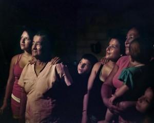 Una familia de la Sierra colombiana, expuesta en la exposición. EFE