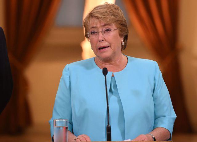 Presidenta de Chile./Foto: EFE