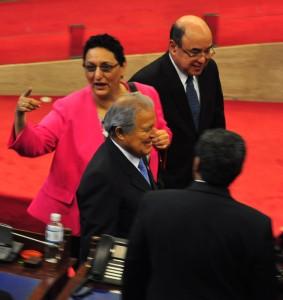 """Lorena Peña dijo que la Asamblea Legislativa debe buscar """"relaciones fluidas"""" de trabajo con los demás Órganos del Estado. /Fotos: Óscar Machón"""