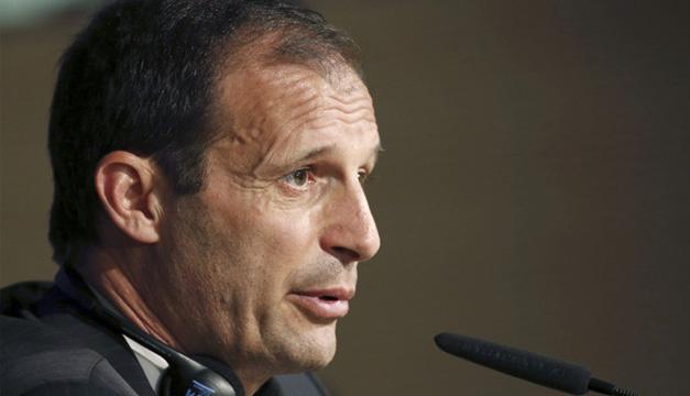 El entrenador del Juventus, Massimiliano Allegri. EFE