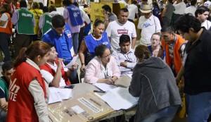 Las mesas electorales no habían contado 20 mil votos para diputados en San Salvador. /DEM