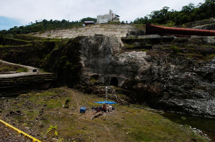 La construcción de El Chaparral se detuvo tras encontrar problemas en su diseño.