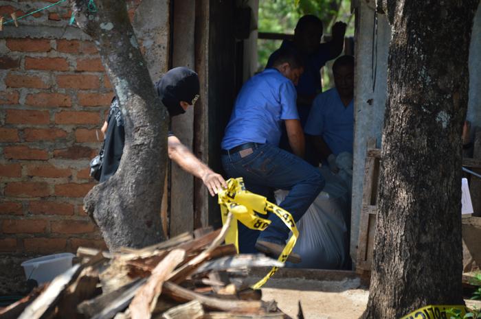 La muerte violenta de la señora Chávez de Cruz causó consternación en el vecindario. /W.U.