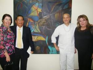 Funes laboró en la Asamblea Legislativa como jefe de la Unidad de Arte y Cultura. Ahí coordinó exposiciones con diferentes artistas. /ARCHIVO DEM