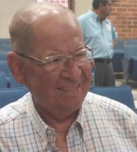 El hermano menor de Romero, Gaspar, ayer en la UCA. /M.C.