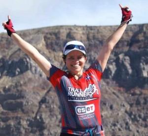 La deportista Lety Magaña fue atropella el domingo. /DEM
