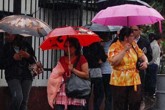 Esperan lluvias en algunas zonas del país./ DEM
