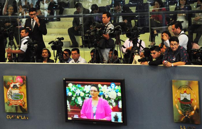 Lorena Peña prometió apertura a los medios de comunicación durante su gestión. /DEM
