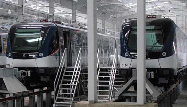 La línea 1 del Metro ya está en funcionamiento. / DEM