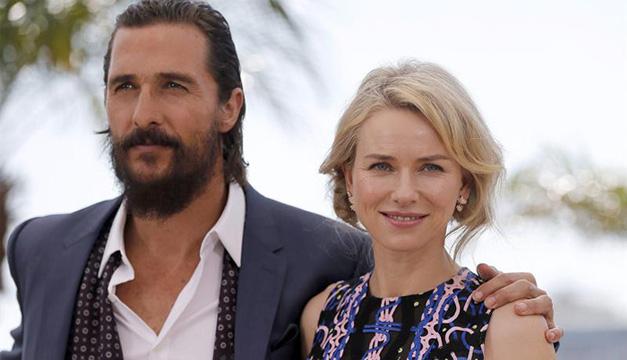 McConaughey y Watts en Cannes. EFE