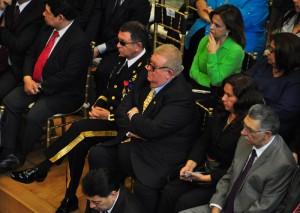 Los ministros de Defensa y de Hacienda asistieron.