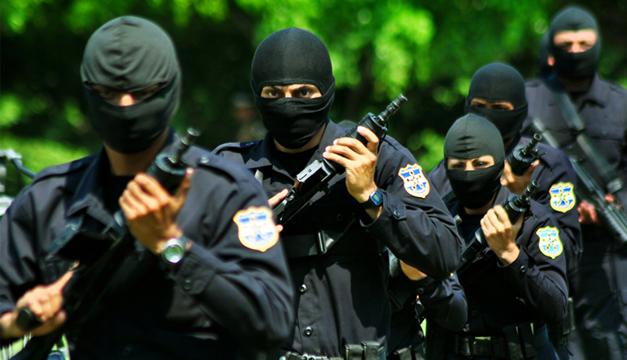 El armamento policial es de calidad, pero insuficiente, según autoridades. /DEM