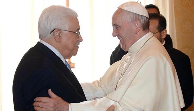 Papa Francisco y Mahmud Abás. EFE