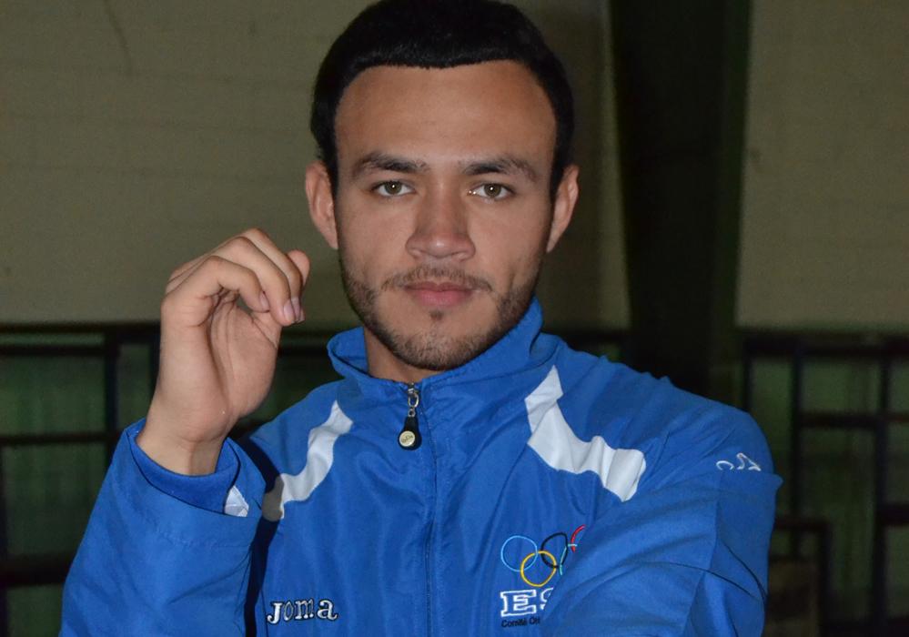 El Karateca Jorge Merino espera resolver su problema de visado con Canadá. /DEM