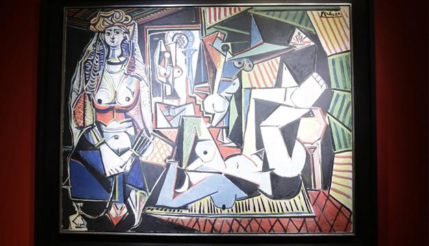 """Detalle de """"Les femmes d'Alger"""" de Pablo Picasso. EFE"""