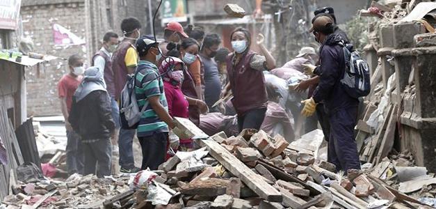 Terremoto en Nepal. EFE
