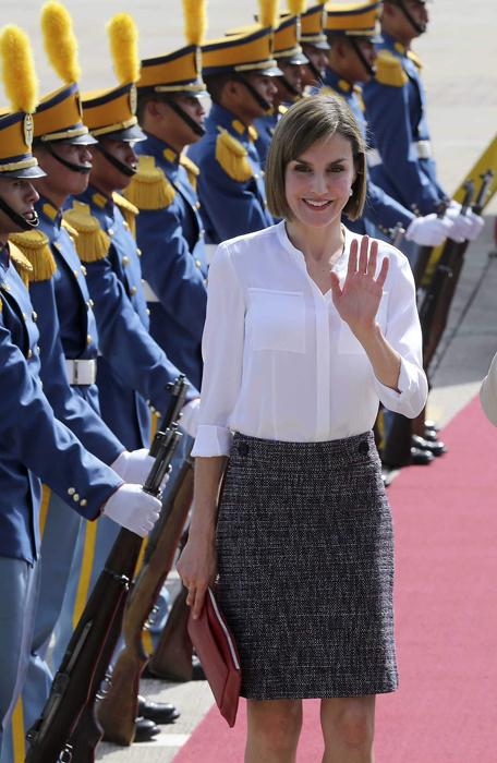La reina conocerá proyectos de cooperación. /DEM