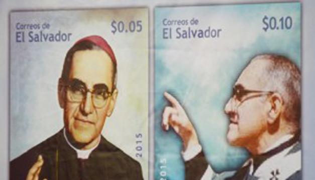 Buscan salvaguardar memoria histórica de Romero a través de los sellos postales. /Wilson Urbina
