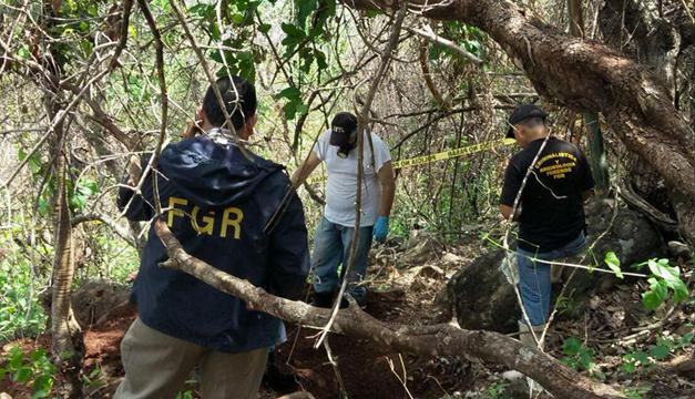 Los tres cuerpos serían de unos agricultores desaparecidos hace siete meses. /DEM