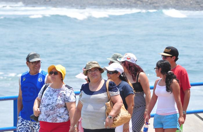 El mayor desafío para la industria turística es la seguridad ciudadana, advierte el FEM. / DEM