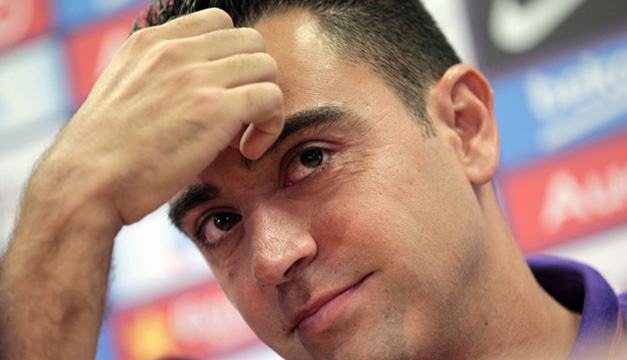 El capitán del FC Barcelona, Xavi Hernández, acaba de anunciar que abandonará al final de la temporada el club catalán. EFE