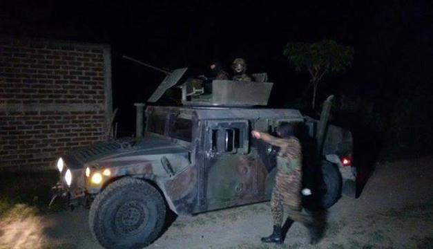 El batallón salió a combatir pandillas en Aguilares. /DEM