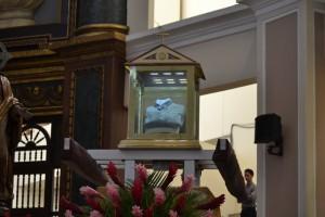 En la misa de ayer se agradeció la beatificación de Romero./DEM